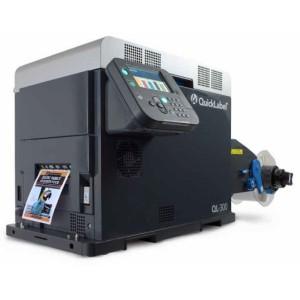 AstroNova QuickLabel QL-300s Farbetikettendrucker Laser mit weißem Toner