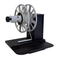 """Aufwickler / Rewinder für Epson CW-C6000Ae mit 76 mm Kern (3""""), bis zu 250 mm (10"""") Rollendurchmesser für Etiketten mit bis zu 127 mm (5"""")"""
