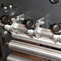 Slitter Option für Inline Matrix Entfernern für OKI Pro 1050/1040 Dry Toner Rollen Etikettendrucker in Laserqualität