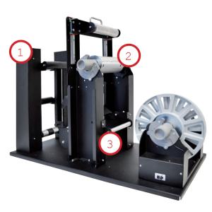 Demogerät: MX-12 Entgitter-Einheit für Etikettenschnitt und Matrixentfernung, 12 Monate Gewährleistung