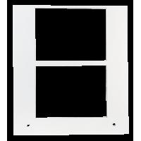 Primera Eddie - manuelles Tablett 12 cm Quadrat - 2x 75 mm x 55 mm , z.B. für Schokolade, Gebäck u.v.m