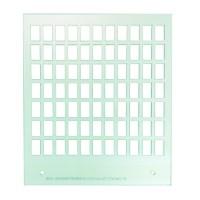Primera Eddie - manuelles Tablett 12 cm Quadrat - 77x7 mm x 12mm Rechteck (1/2) & 77x6mm x 11mm Rechteck (2/2) für das Bedrucken von TicTacs geeignet