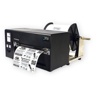 DTM FX810ec Metall Folien Drucker - 219,5 mm Druckbreite mit Cutter inkl. 30 Minute Online Schulung
