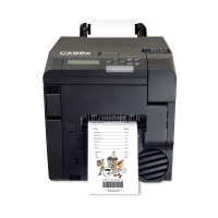 DTM CX86e Rollen-Laserdrucker für Etiketten mit 25-86mm Etikettenbreite, Farblaserdrucker für Etiketten - auch als Bondrucker anwendbar, 3 Jahre Garantie*