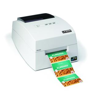 Primera LX500e kompakter Farb-Etikettendrucker, hohe Druckqualität mit 30 Minuten Online Schulung, 3 Jahre Garantie*