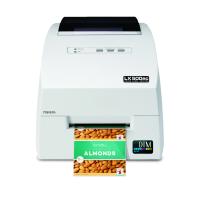 Primera LX500ec mit Cutter: Kompakter Farb-Etikettendrucker, hohe Druckqualität mit 30 Minuten Online-Schulung, 3 Jahre Garantie*