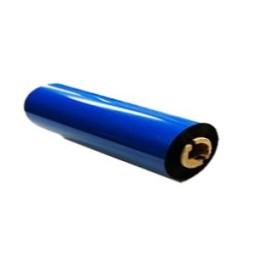 BlaueFolie, glänzend metallisch für Primera & DTM FX400e/FX500e/FX510e 65mm breit x 200m lang