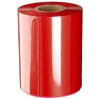 Rote Folie, glänzend metallisch für Primera FX400e/FX500e & DTM FX510e/FX810e, 65mm breit x 200m lang