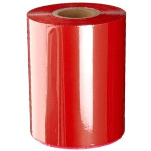 Rote Folie, glänzend metallisch für Primera & DTM FX400e/FX500e/FX510e 65mm breit x 200m lang