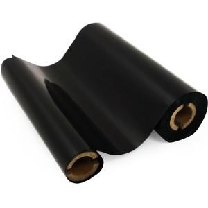 Schwarze Folie, glänzend metallisch für Primera & DTM FX810e 220mm breit x 200m lang