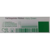 Kelly Grüne Folie, für Primera & DTM FX400e/FX500e/FX510e 110mm breit x 200m lang