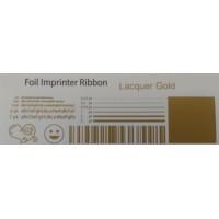 Satin goldene Folie, für Primera & DTM FX400e/FX500e/FX510e 110mm breit x 200m lang