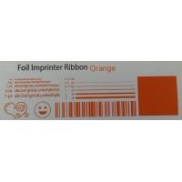 Orangene Folie, für Primera & DTM FX400e/FX500e/FX510e 110mm breit x 200m lang