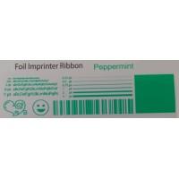 Pfefferminzgrün Folie, für Primera & DTM FX400e/FX500e/FX510e 110mm breit x 200m lang