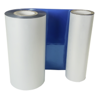 Blaue Folie, glänzend metallisch für DTM FX810e 220mm breit x 200m lang