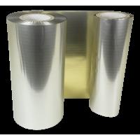 Matt Goldene Folie, für Primera FX400e/FX500e & DTM FX510e/ FX810e, 110mm breit x 200m lang