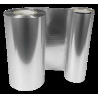 Matt Silberne Folie, für Primera FX400e/FX500e & DTM FX510e/ FX810e, 110mm breit x 200m lang