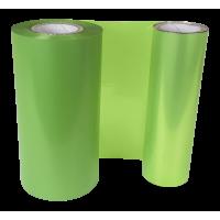 Limetten Grüne Folie, für Primera FX400e/FX500e & DTM FX510e/ FX810e, 110mm breit x 200m lang
