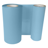 Peacock blaue Folie, für Primera FX400e/FX500e & DTM FX510e/ FX810e, 110mm breit x 200m lang