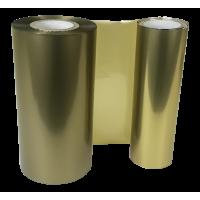 Satin goldene Folie, für Primera FX400e/FX500e & DTM FX510e/ FX810e, 110mm breit x 200m lang
