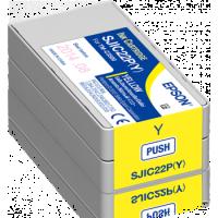 Epson Farbpatrone, gelb, Inhalt: 32,5 ml, für Epson TM-C3500