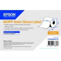 Epson Etikettenrolle, BOPP , seidenmatt, passt für: Epson ColorWorks CW-C6500, Rollenbreite: 203mm, Durchmesser: 152mm, Länge: 68m