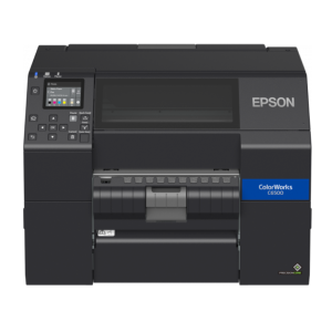 Epson ColorWorks CW-C6500Ae (mk) Druckbreite (max.): 212mm, Cutter, Disp., USB, Ethernet, schwarz
