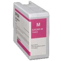 Epson Tintenpatrone, magenta 80 ml, passend für Farbetikettendrucker ColorWorks C6000 Serie