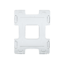 Evolis Dual-Ticket Halterung, 89 x 111 mm, 5 Stück