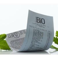 Ökologische Bonrolle für Thermodrucker 80mm/76m/12mm, 40 Rollen pro Paket FSC®-C106855, Lebensmittelecht und Recylcebar ohne Giftstoffe, problemlose Entsorgung