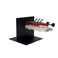 S-200 Etikettenschneider zum verkleinern der Etikettenrollen, High-Speed, Heavy-Duty Etiketten Slitter zum Drucken von kleinen Etiketten in mehreren Reihen und Schneiden