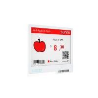 """SUNMI ESL - Digitales Preisschild, 10.67cm (4.2""""), 2.4 GHz, schwarz weiß rot"""