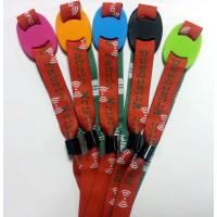 RFID Stoff & Silikon Armband (Wristband) f&uum...