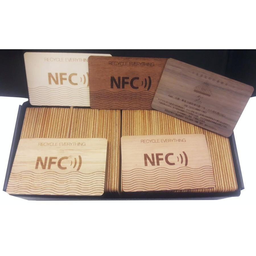 Rfid Wood Card Holzkarte Oder Chip Verschiedenes Holz