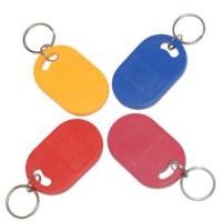 RFID SchlüsselanhängerKeyfob OVAL, mit Wunschchip und Wunschfarbe