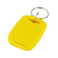 RFID Schlüsselanhänger/Keyfob BASIC mit MIFARE® S50 / 1K Classic Chip, gelb