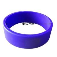 Glattes RFID Wristband Silikon, in versch. Farben ...