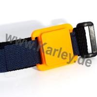 RFID UHF Armband mit Klettverschluss für weite Distanzen und optional 2 Frequenzen