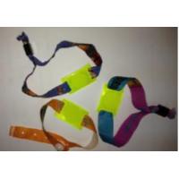 RFID Einweg Armband aus Stoff mit PVC-Tag, versch....