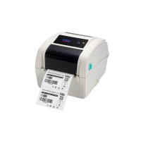 Leistungsstarker Desktop-Etikettendrucker TSC TC210, 8 Punkte/mm (203dpi), Disp., RTC, TSPL-EZ, USB, RS232, Ethernet, beige