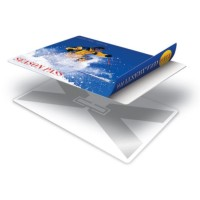 Zebra RFID Plastikkarten  100 Stück weiß ISO Nor...