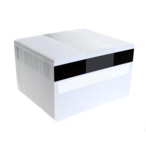 Zebra Premier Karten, 30mil (0,76mm), weiß, PVC, mit Unterschriften Feld und HiCo Magnetstreifen, 500er Pack bedruckbar