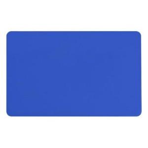 Zebra Premier Karte, blau aus PVC, 30mil (0,76mm) Stärke im ISO Kartenformat bedruckbar