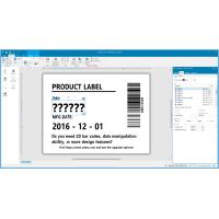 Barcode Etiketten Design Software: ZebraDesigner 3...