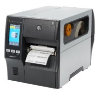 Schneller Industrie Etikettendrucker Zebra ZT411, 12 Punkte/mm (300dpi), Cutter, Disp. (Farbe), RTC, EPL, ZPL, ZPLII, USB, RS232, Bluetooth, Ethernet