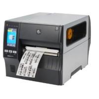 178mm breiter Industrie Etikettendrucker Zebra ZT421, 12 Punkte/mm (300dpi), Cutter, Disp. (Farbe), RTC, EPL, ZPL, ZPLII, USB, RS232, Bluetooth, Ethernet