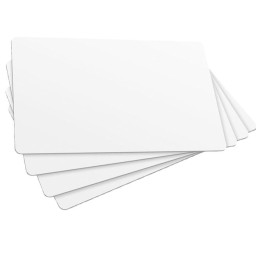 ISO Transponderkarte (Plastikkarte) EM4102 Chip, read only LF weiß bedruckbar