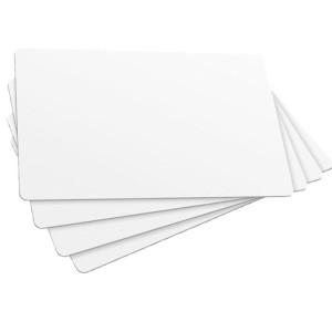 Plastikkarten, 1.000er-Pack ISO Scheckkartengröße bedruckbar weiß