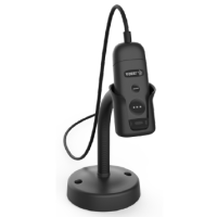 Zebra CS6080, Handscanner, Retail, 2D, Imager, Vibration, USB, inkl.: Kabel (USB), Standfuß, Farbe: schwarz
