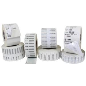 Zebra Z-PERFORM 1500T 97x15mm RFID UHF Etiketten für Zebra ZD500R 1000 Etiketten / Rolle